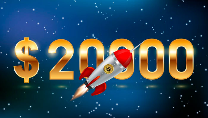 Курс Bitcoin (BTC) $20 000