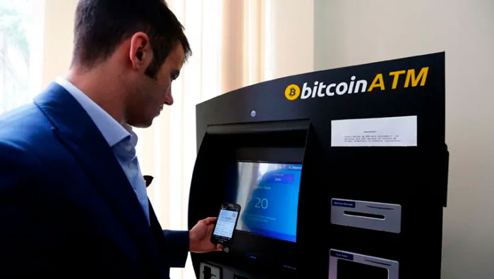 Криптовалютный ATM-банкомат
