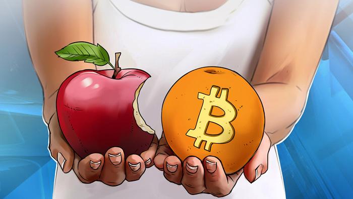 Apple и биткоин