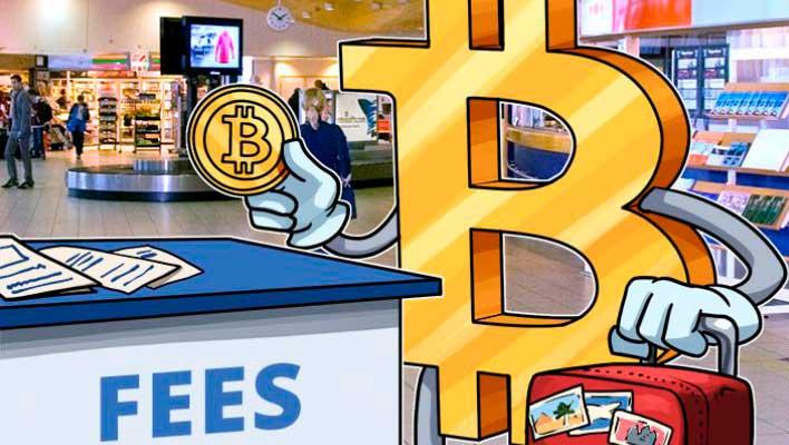 Комосиия за транзакции в сети биткоин