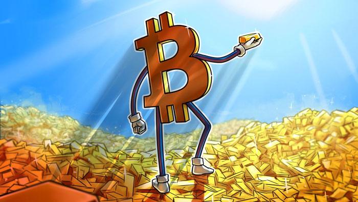 Bitcoin заменит золото