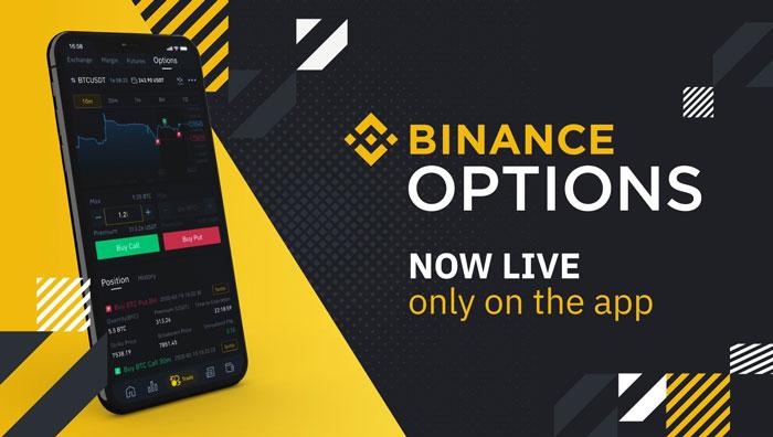 Binance запустила биткоин-опционы