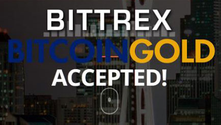 Биржа Bittrex торгует Bitcoin Gold