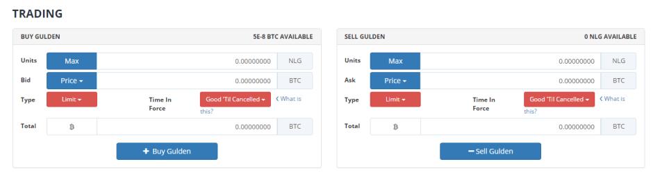 Блок Trading