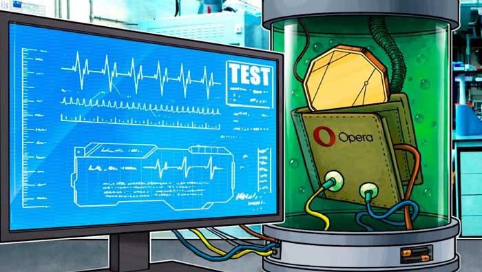 Браузера Opera с криптовалютным кошельком