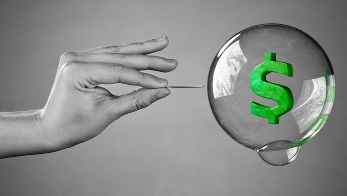 """Доллар США это настоящий """"пузырь"""""""