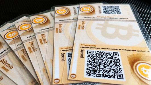 Бумажный кошелек для криптовалюты