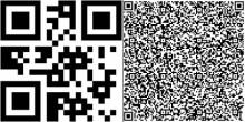 Расположение информации на QR коде