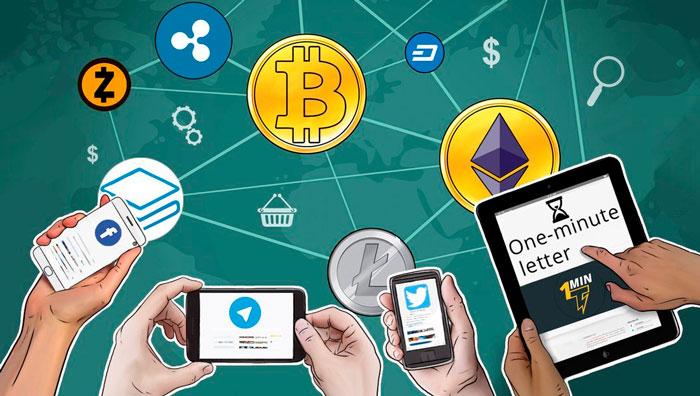 Криптовалюты от Telegram, Facebook и Twitter