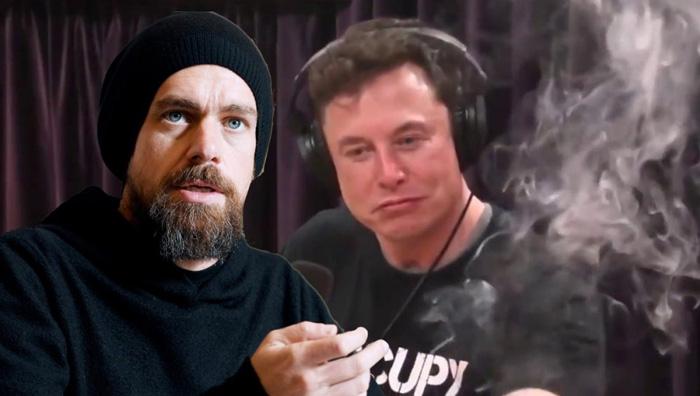 Джек Дорси и Илон Маск обсуждают будущее биткоина