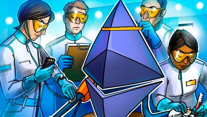 Состояние криптовалюты Ethereum (ETH)