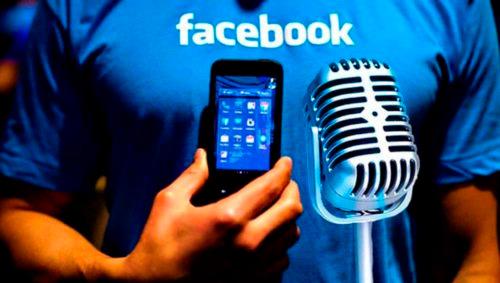 Facebook прослушивает голосовые сообщения пользователей