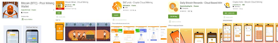 Фейковые приложения для майнинга криптовалют на Play Market