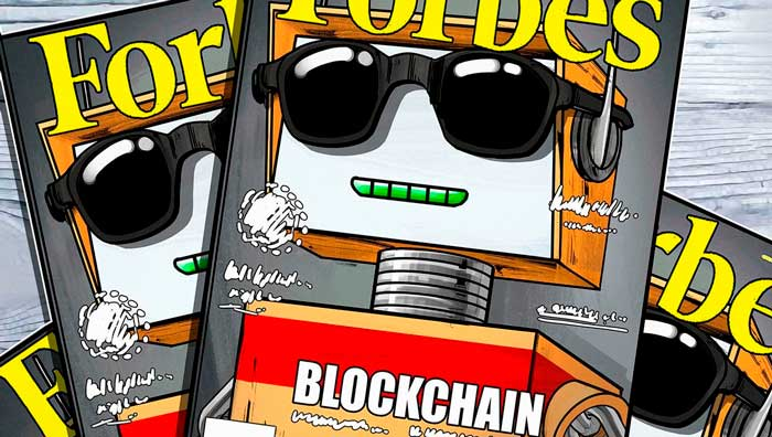 Журнал Forbes о технологии блокчейн