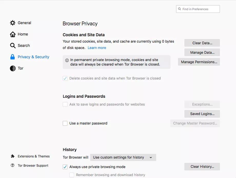 Как использовать режим приватного просмотра в браузере Tor