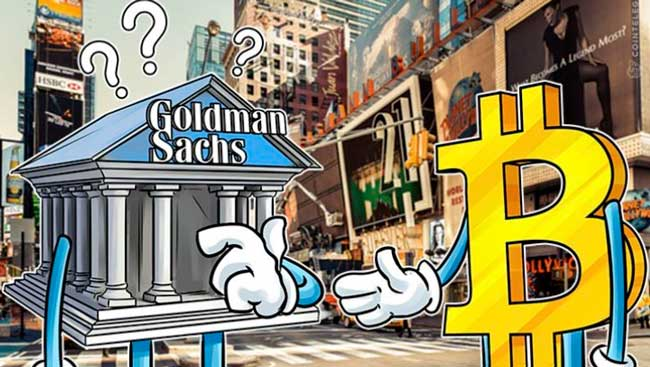 Goldman Sachs будет торговать криптовалютой