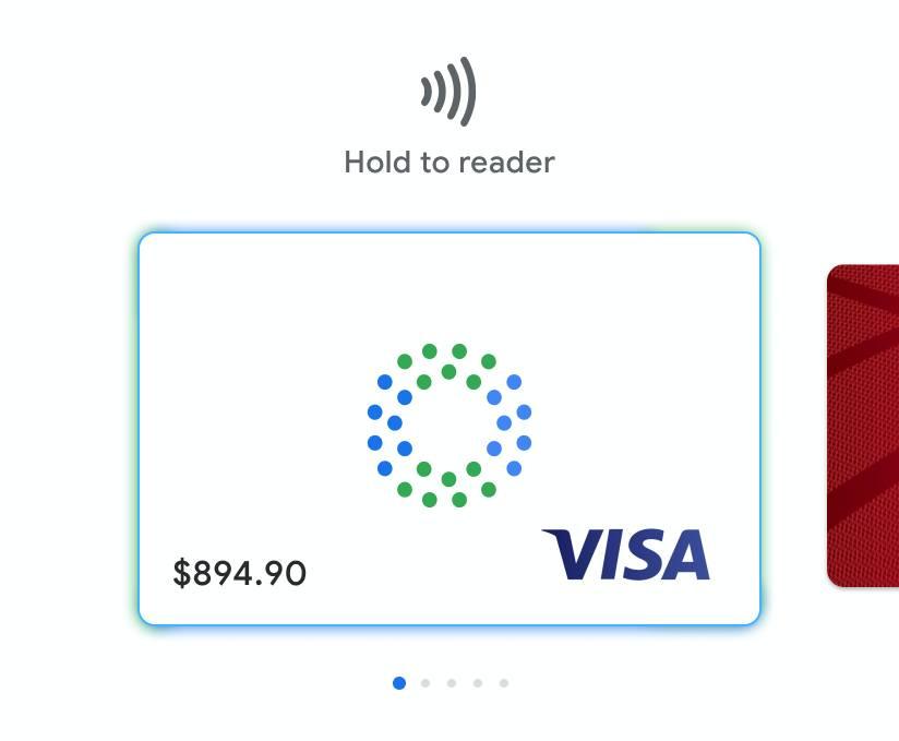 Виртуальные дебетовые карты Google Pay Card