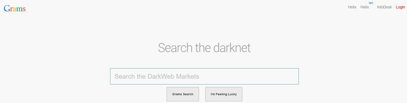 Аналог Google в даркнете –поисковик Grams