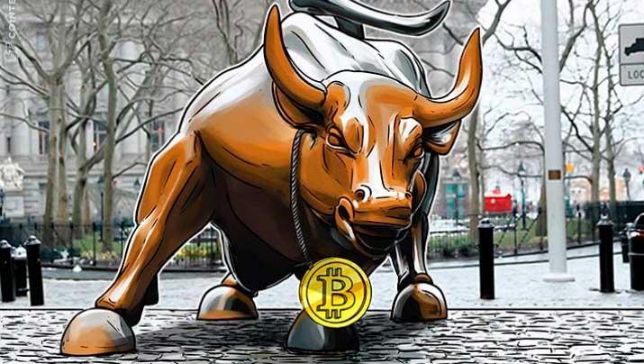 Рост на рынке криптовалюты
