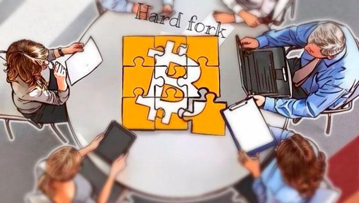 Форки сети биткоин