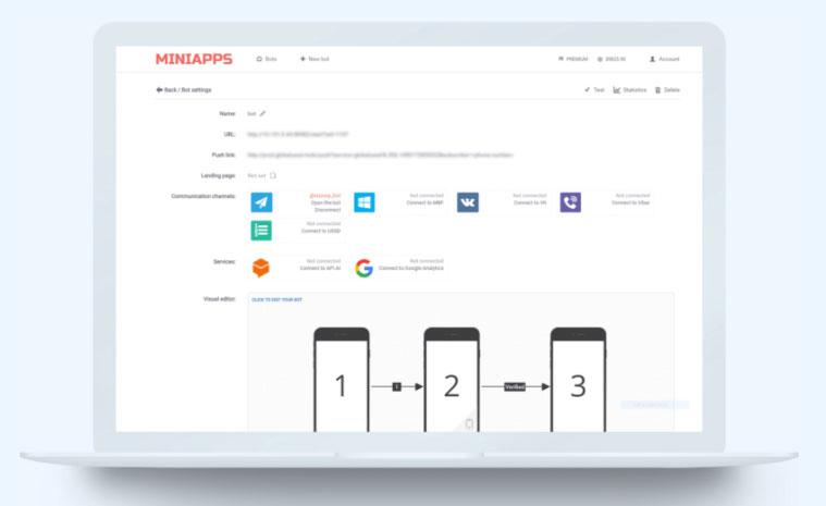Инструменты платформы Miniapps.pro