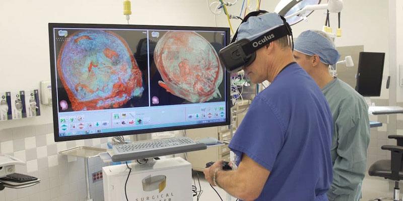 Использование VR для тренировки хирургов