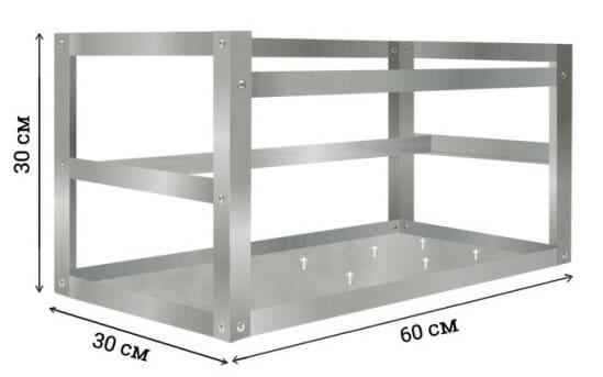 Сборки каркаса для GPU-фермы