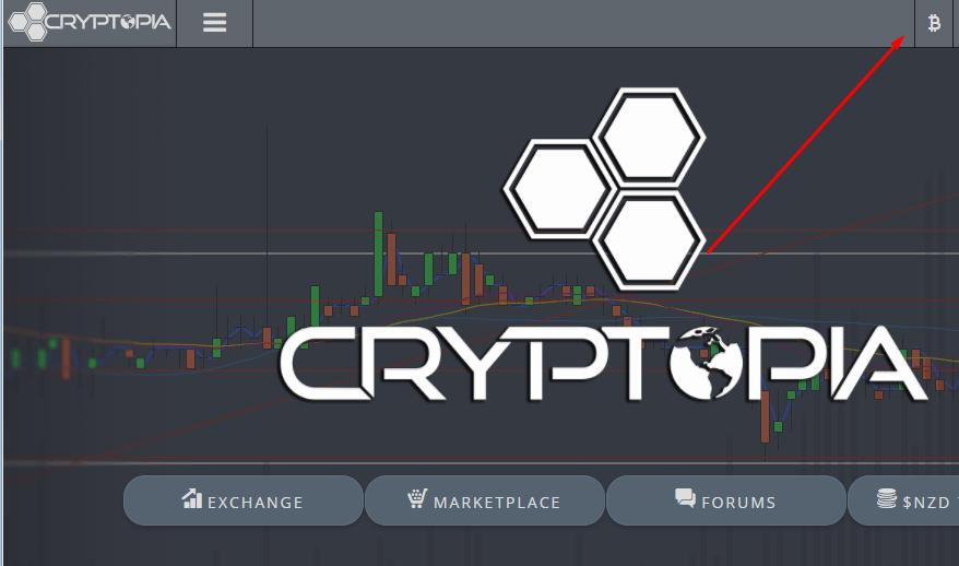 Создать кошелек на бирже Cryptopia