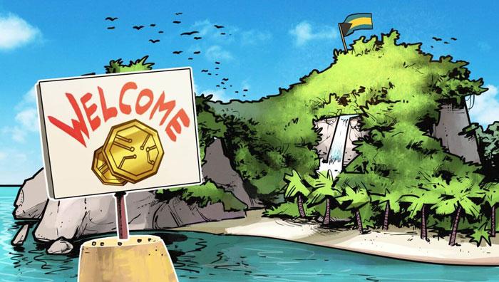 Криптовалюта на островах