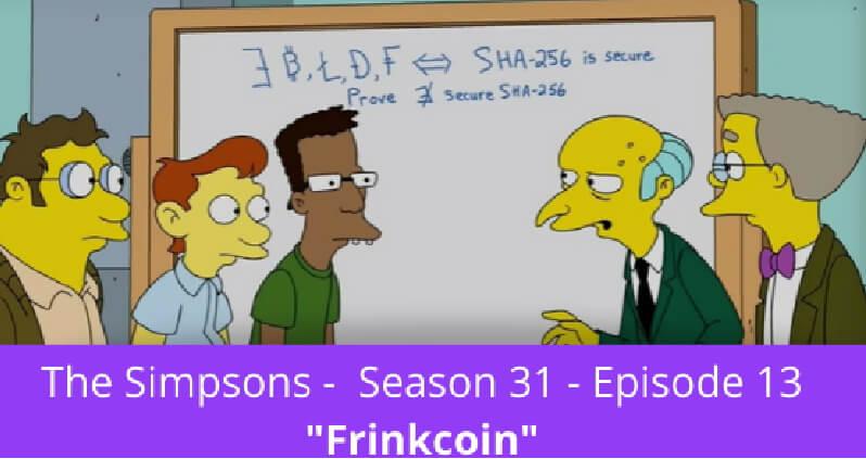 Криптовалюта в мультсериале The Simpsons