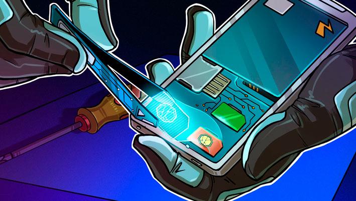SIM-карта для криптовалютных транзакций