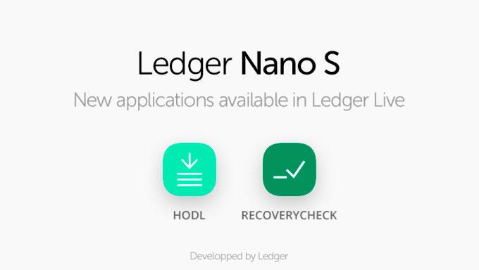 Приложения для Ledger