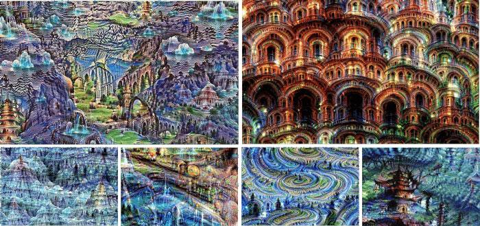 Нейронные сети Google создают необычные изображения