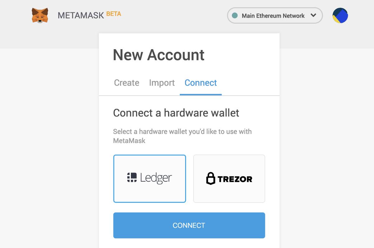 MetaMask добавил поддержку аппаратных кошельков Ledger