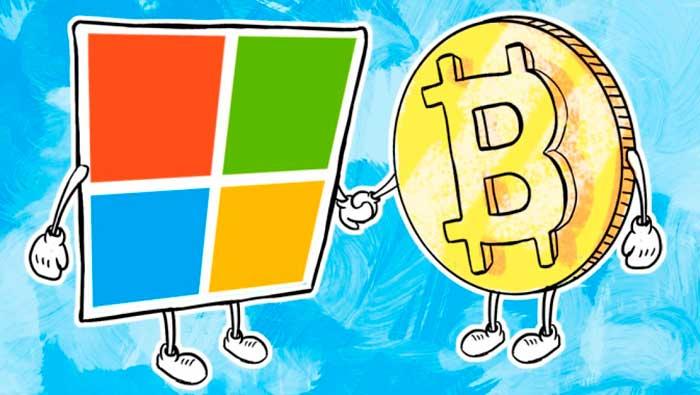 Microsoft начнет принимать Bitcoin Cash и Биткоин