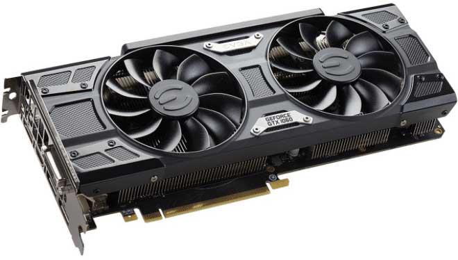 Nvidia GTX 1060−6GB