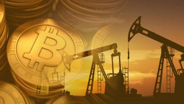 Нефть и биткоин