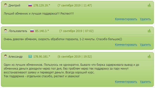 Отзывы о сервисе Nicechange.org