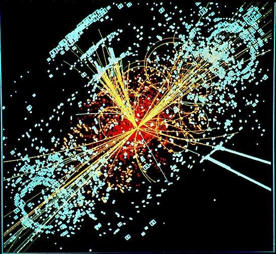 Моделирование появления бозона Хиггса при столкновении двух протонов