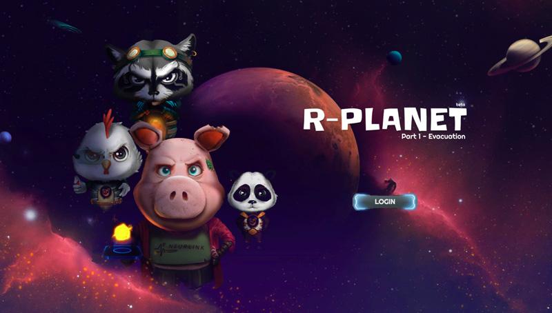 Блокчейн игра R-Planet