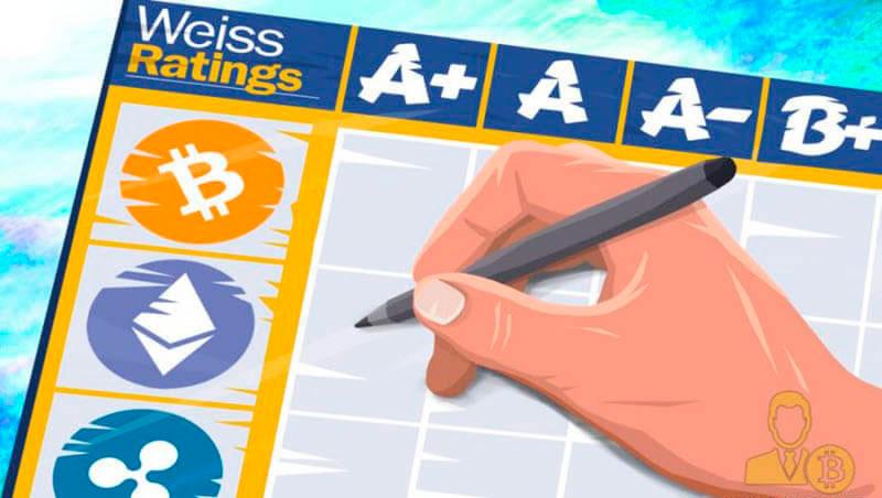 Рейтинг криптовалют на 2019 год, от аналитиков Weiss Ratings