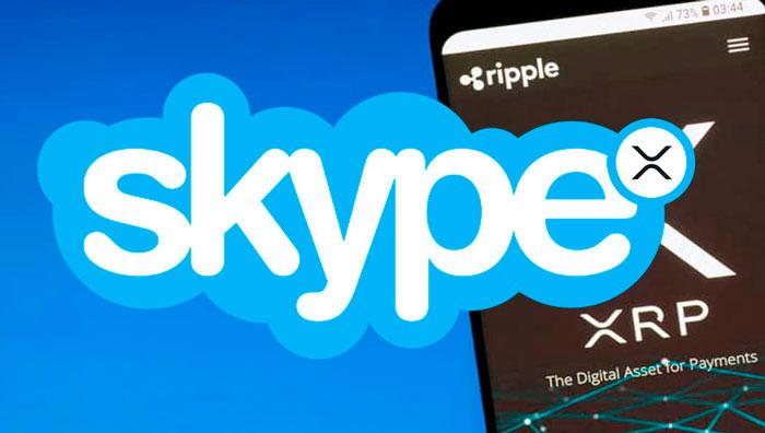 Skype внедряет Ripple (XRP)
