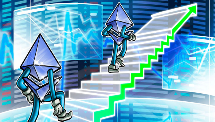 Рост курса Ethereum (ETH)