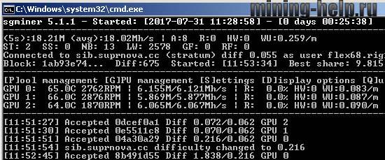Майнер для AMD