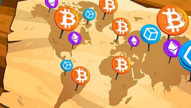 Страны наиболее лояльные к криптовалюте