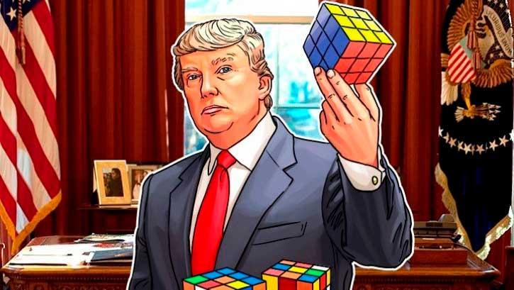 Дональд Трамп и криптовалюты