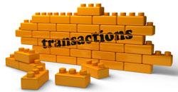 Транзакции в блокчейне Bitcoin
