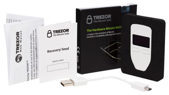 TREZOR Wallet аппаратный кошелек для биткоинов