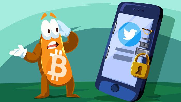 Twitter блокирует криптовалютные аккаунты