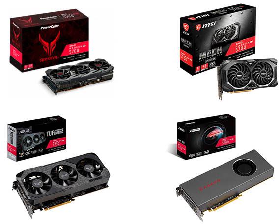 Водеокарты AMD Radeon RX 5700 и RX 5700 XT - внешний вид
